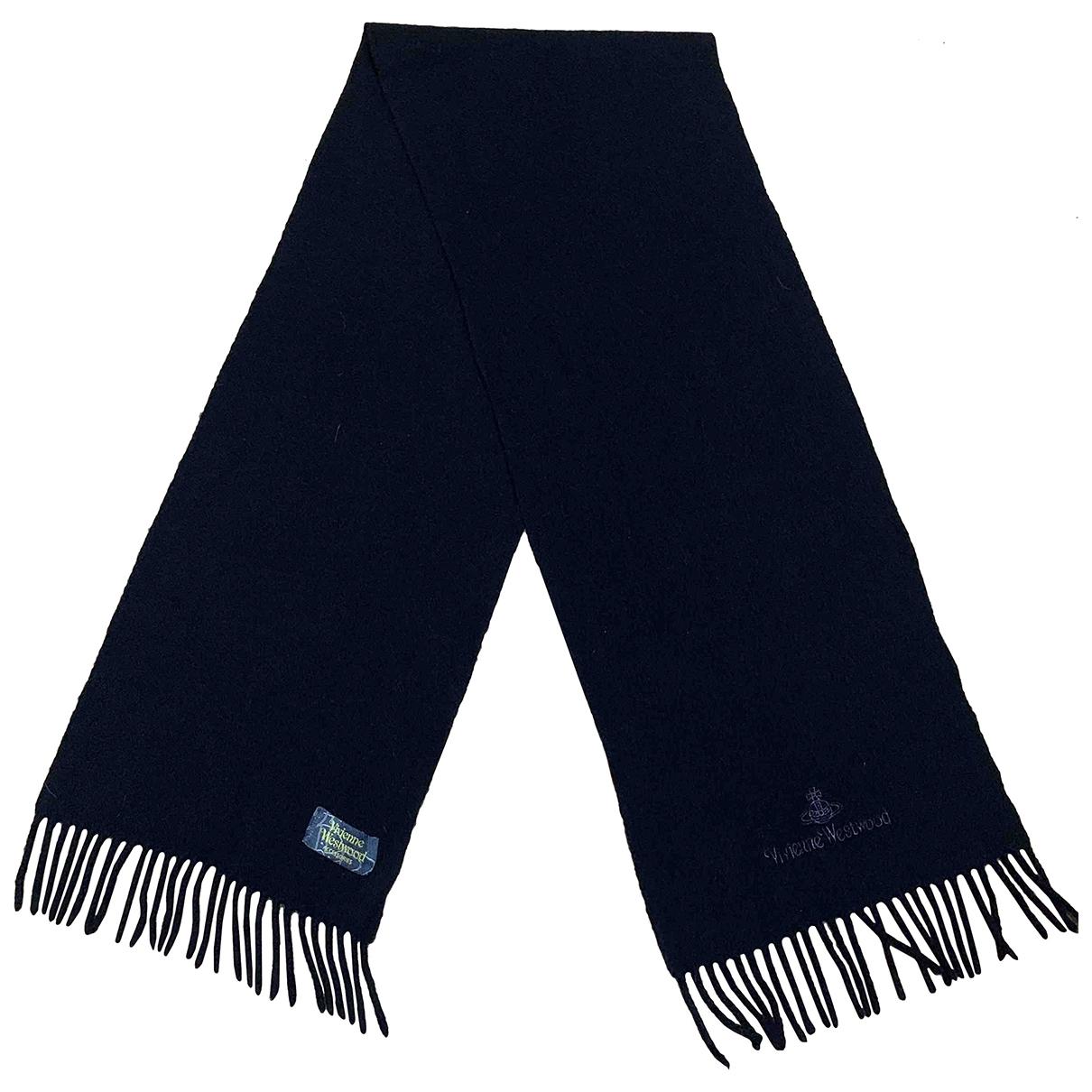 Vivienne Westwood \N Black Wool scarf for Women \N