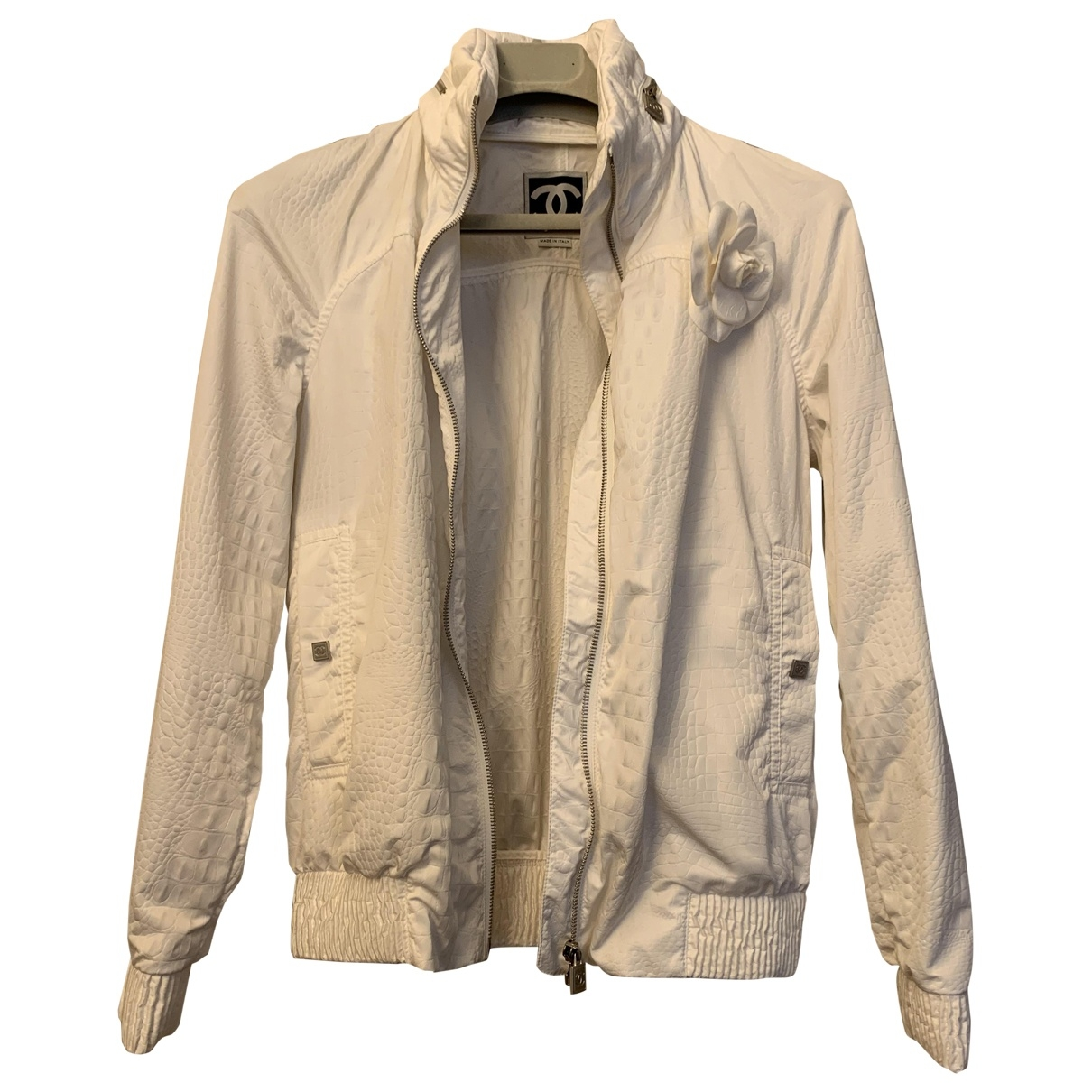 Chanel \N White jacket for Women 38 FR