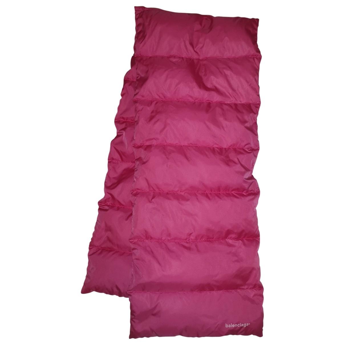 Balenciaga \N Pink scarf for Women \N