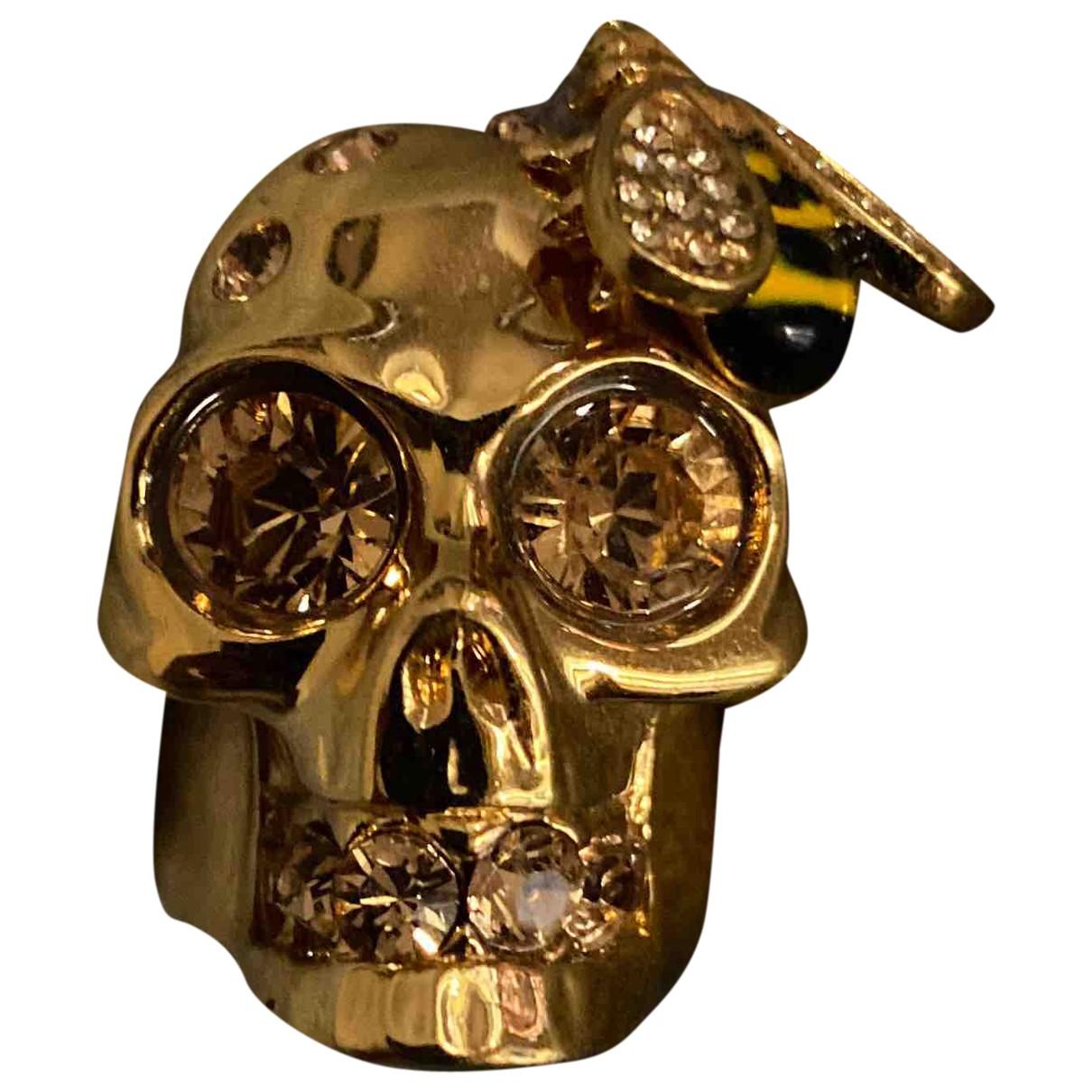 Alexander Mcqueen \N Ring in  Gold Metall