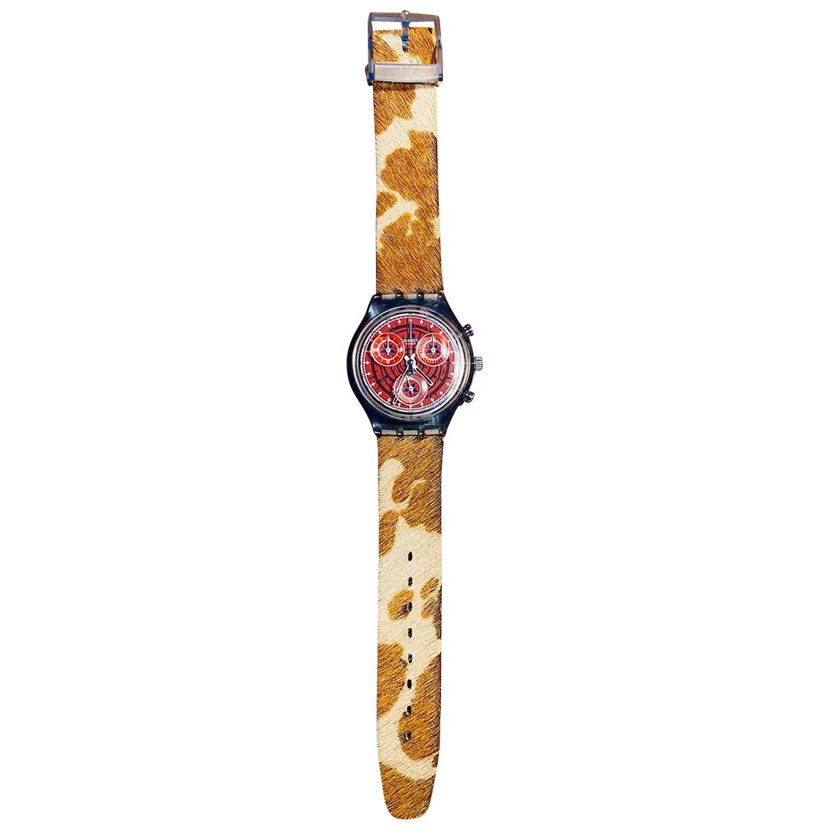 Swatch \N Uhr Beige