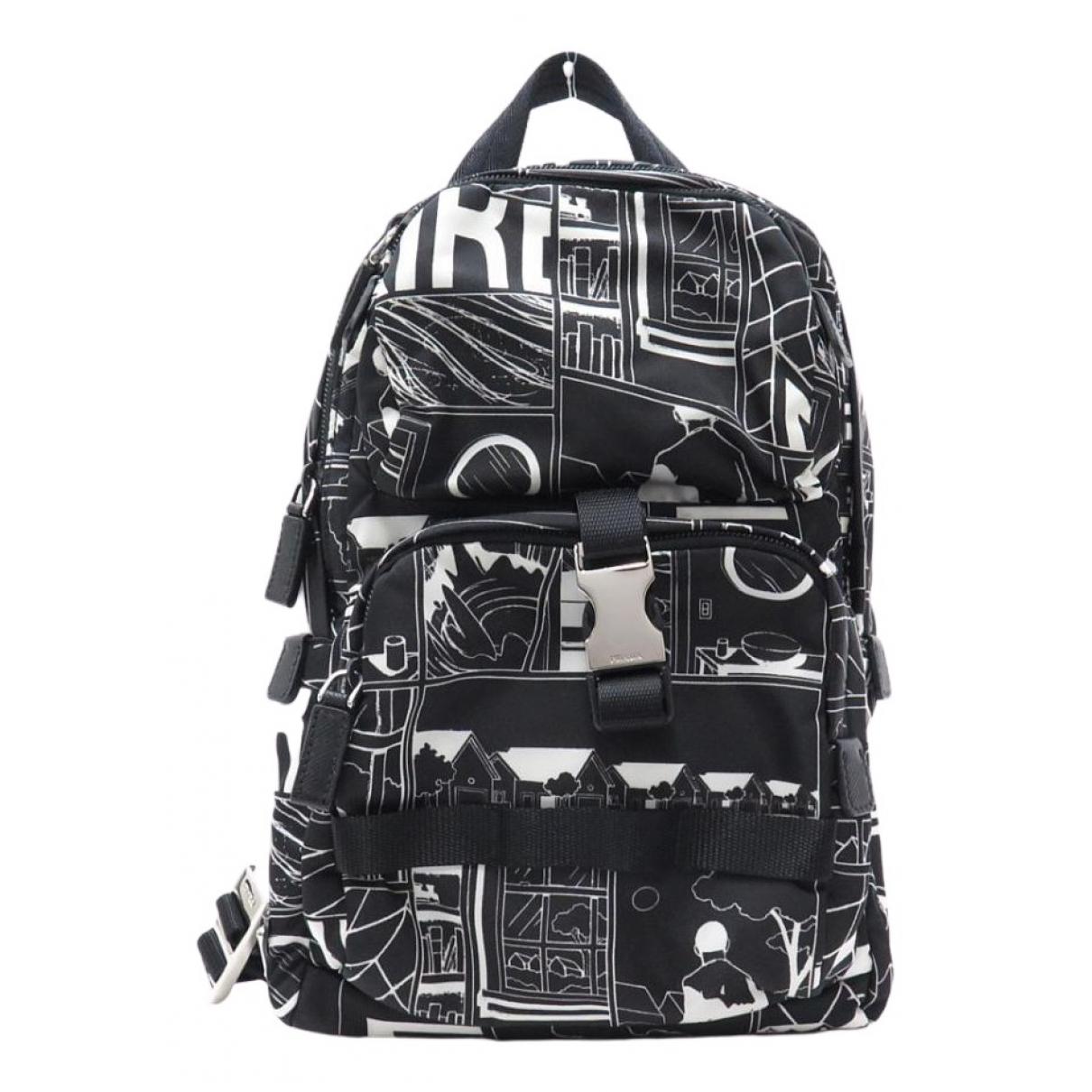 Prada N Black Cloth bag for Men N