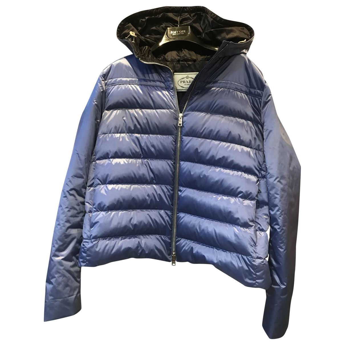 Prada \N Blue jacket for Women 46 FR