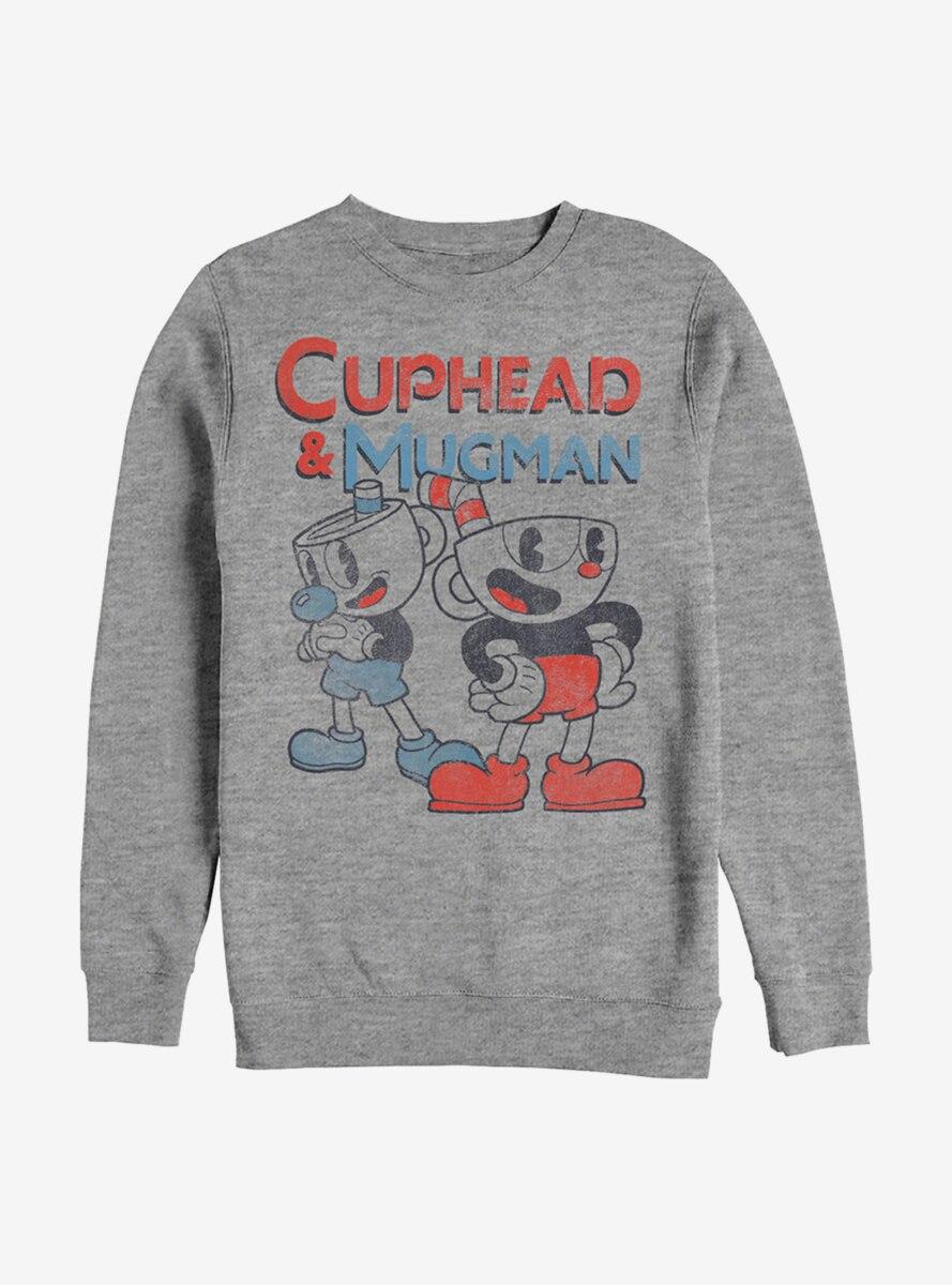 Cuphead And Mugman Pair Sweatshirt