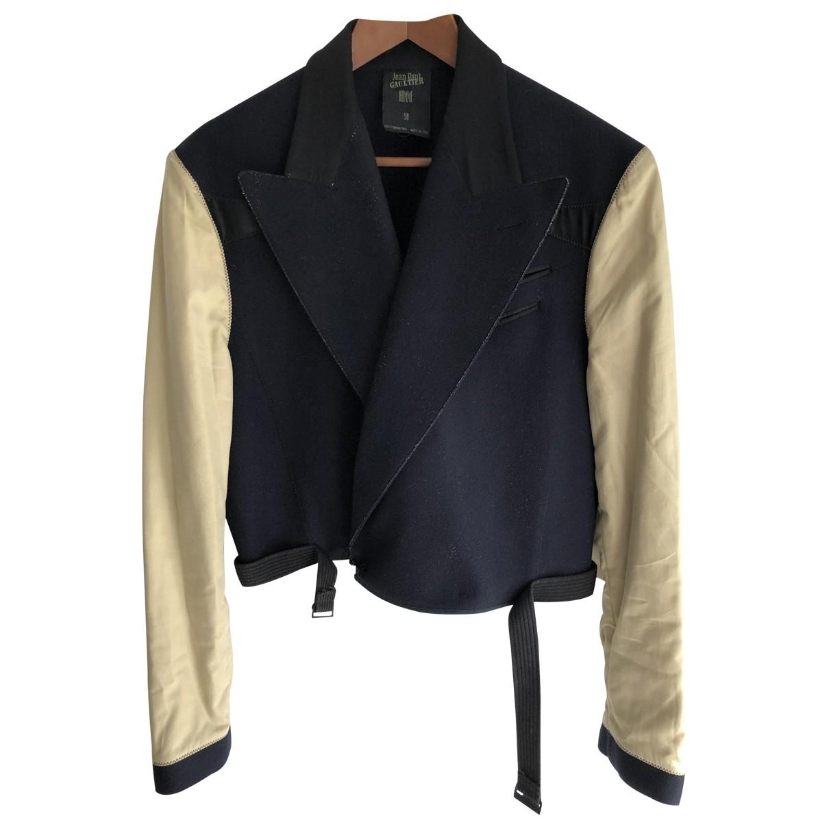 Jean Paul Gaultier \N Navy Wool jacket  for Men 50 IT