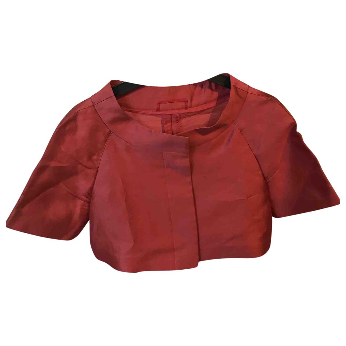 Max Mara Studio \N Pink jacket for Women 34 FR