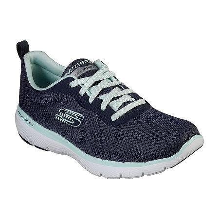 Skechers Flex Appeal 3.0-Insight Womens Sneakers, 6 1/2 Medium, Blue