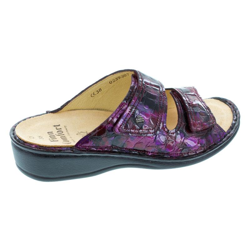 Finn Comfort Jamaica Viola Odessa Leather Soft Footbed 42