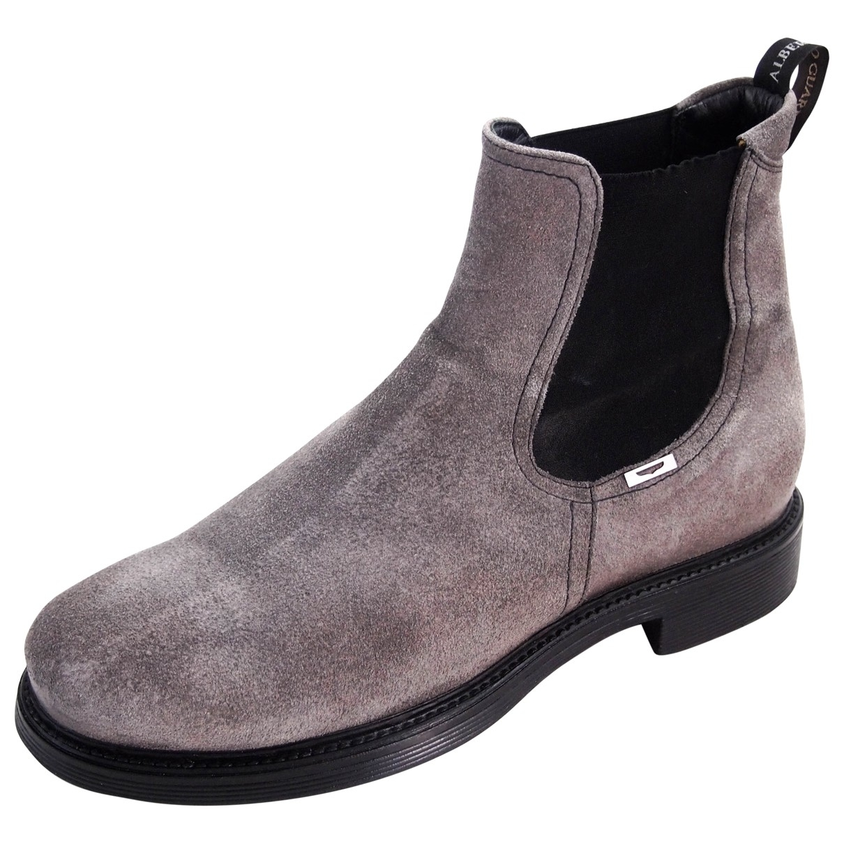 Alberto Guardiani \N Grey Suede Boots for Men 42 EU
