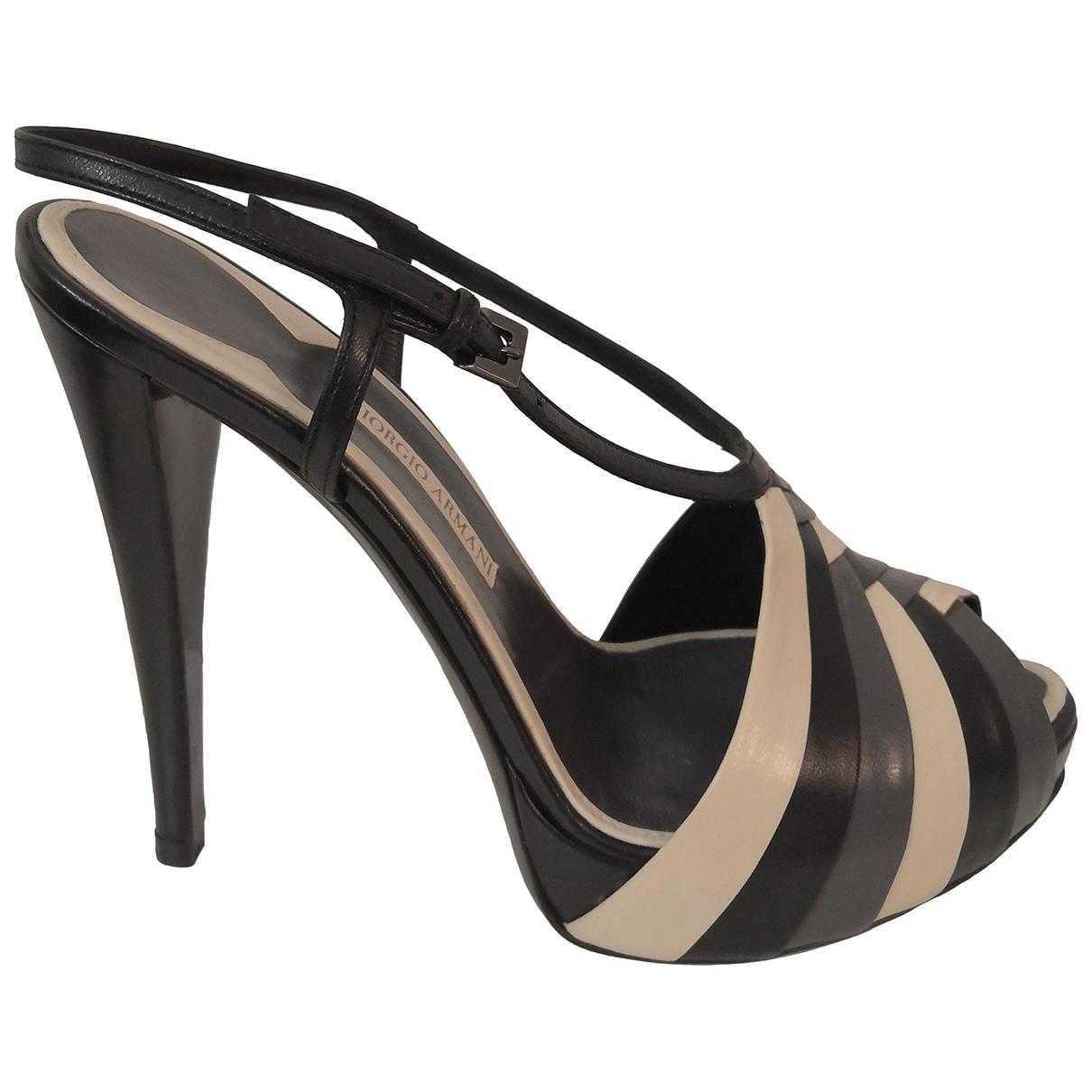 Giorgio Armani \N Multicolour Leather Heels for Women 38 IT