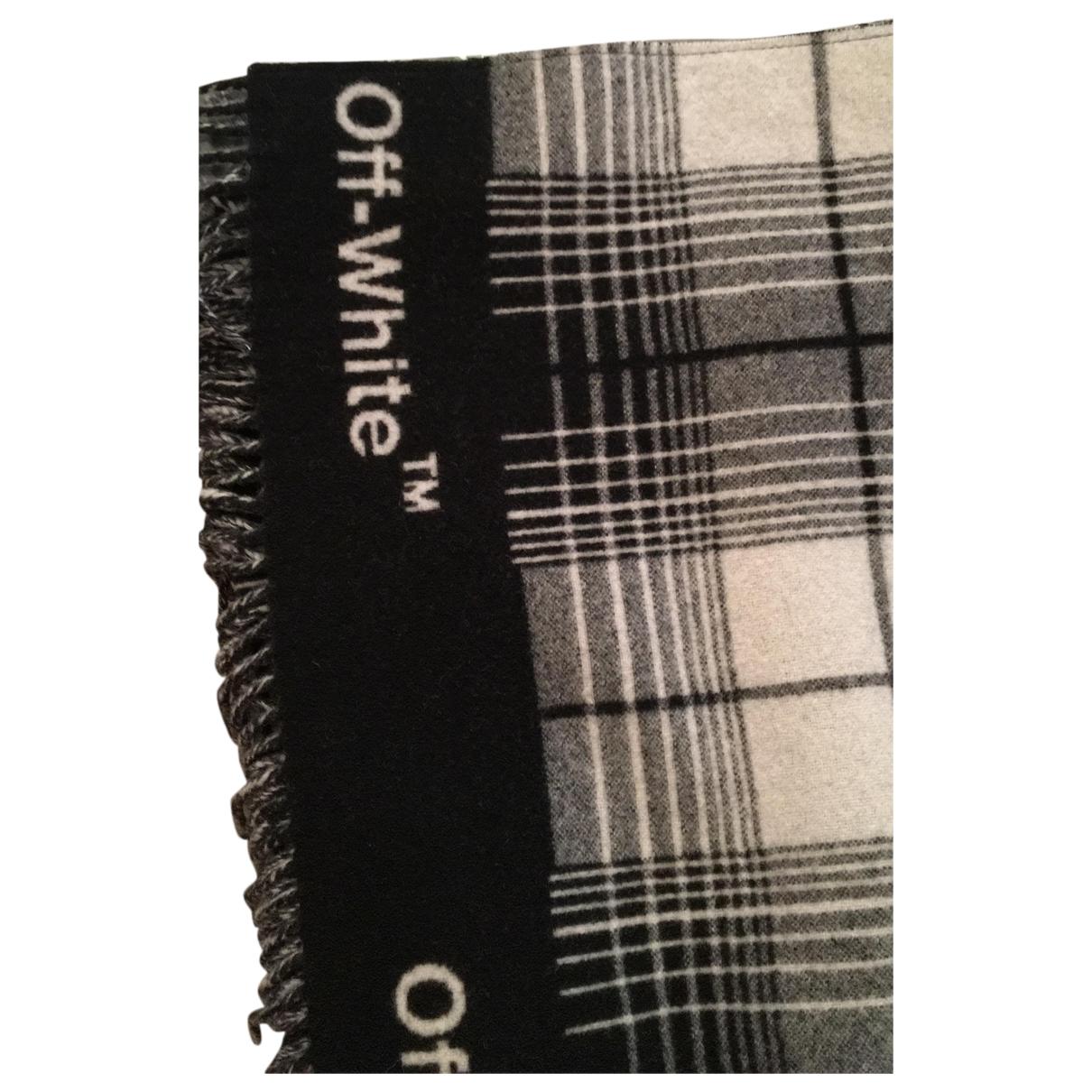 Off-white \N Schal in  Schwarz Wolle
