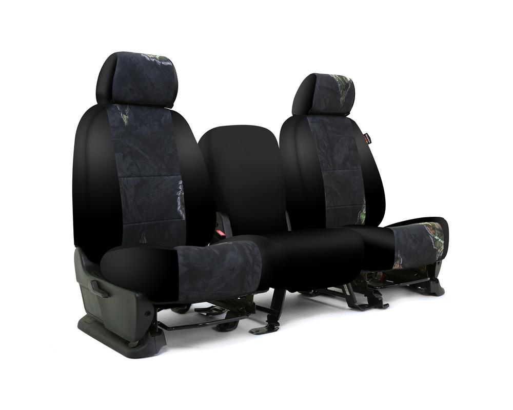 Coverking CSC2MO12CH9668 Skanda Custom Seat Covers 1 Row Neosupreme Mossy Oak Eclipse with Black Sides Rear Chevrolet Silverado 1500 2014-2018