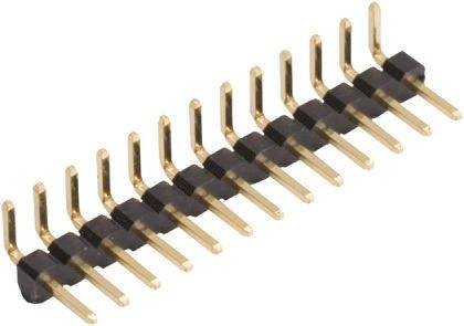 HARWIN , M22, 3 Way, 1 Row, Right Angle Pin Header (10)