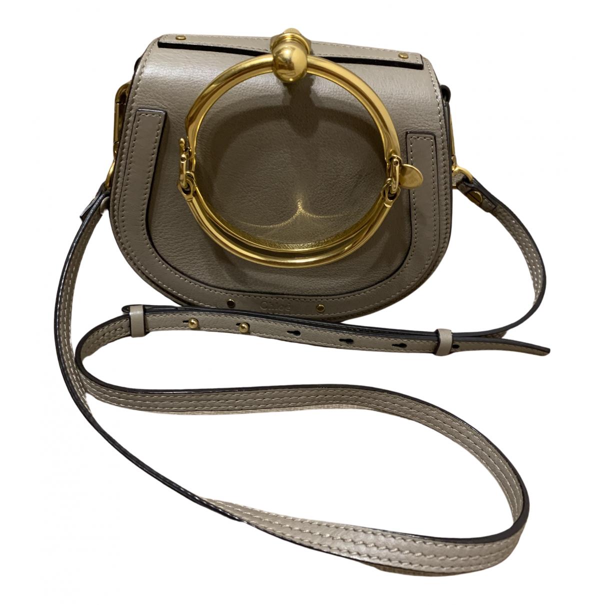 Chloé Bracelet Nile Grey Leather handbag for Women N