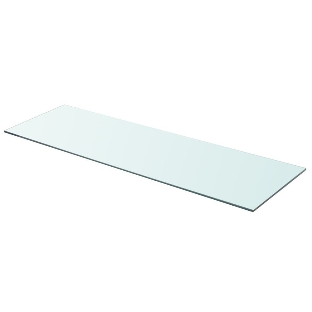 vidaXL Shelf Panel Glass Clear 35.4