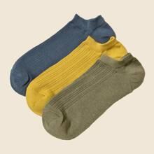 3 Paare Maenner einfache Socken