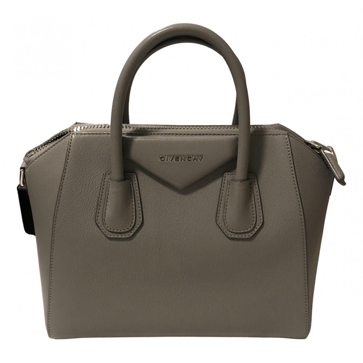 Givenchy Antigona Grey Leather handbag for Women N