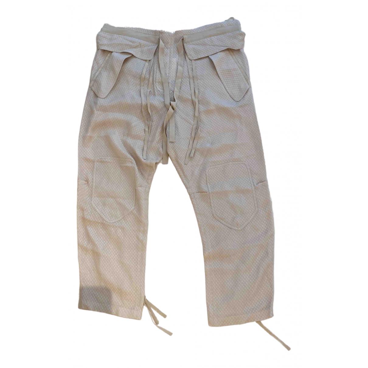 Pantalon corto de Seda Chloe