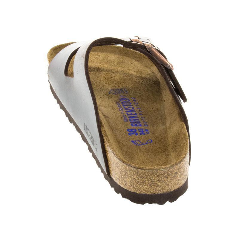 Birkenstock Arizona Brown Leather Soft Footbed 43 R