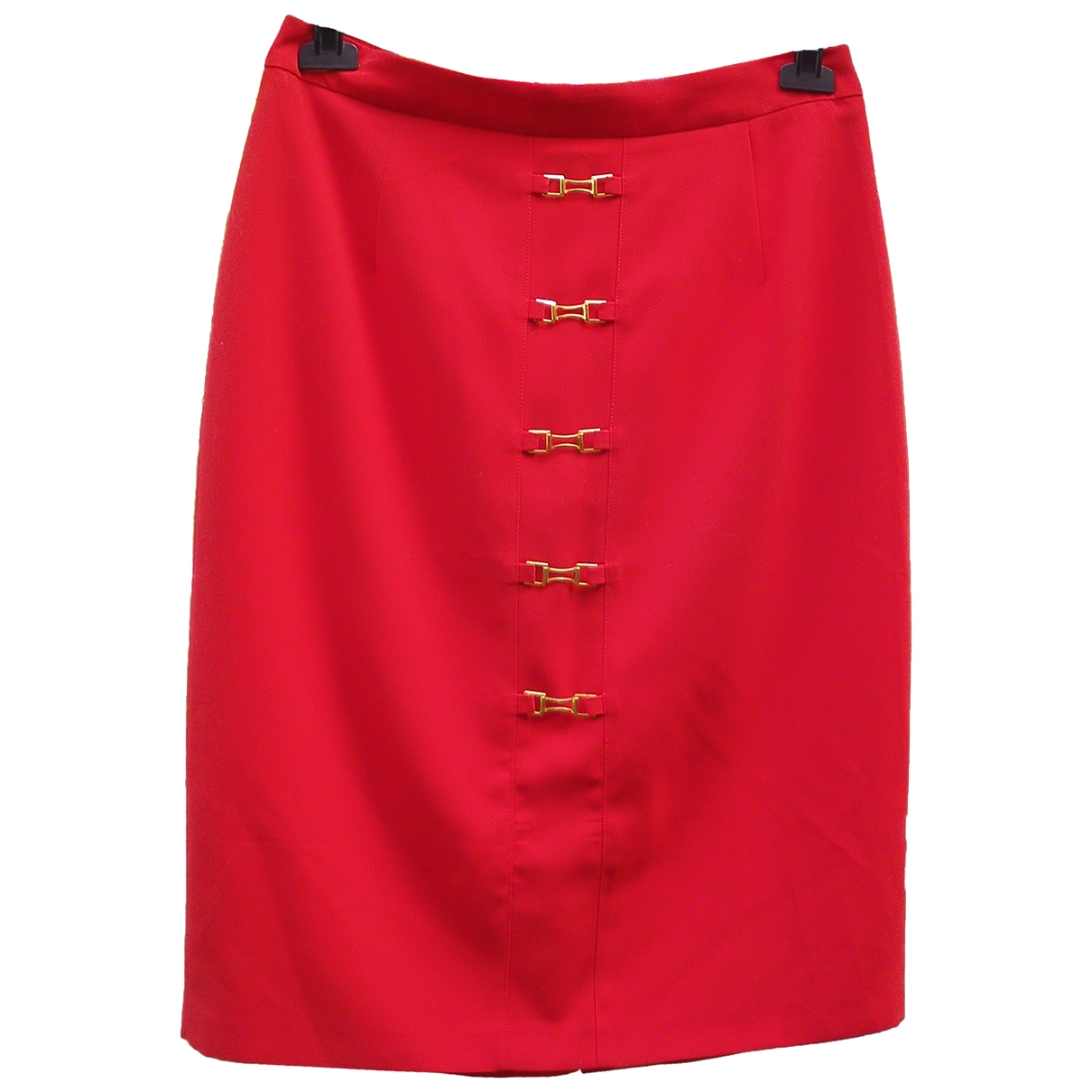 Burberry \N Rocke in  Rot Polyester