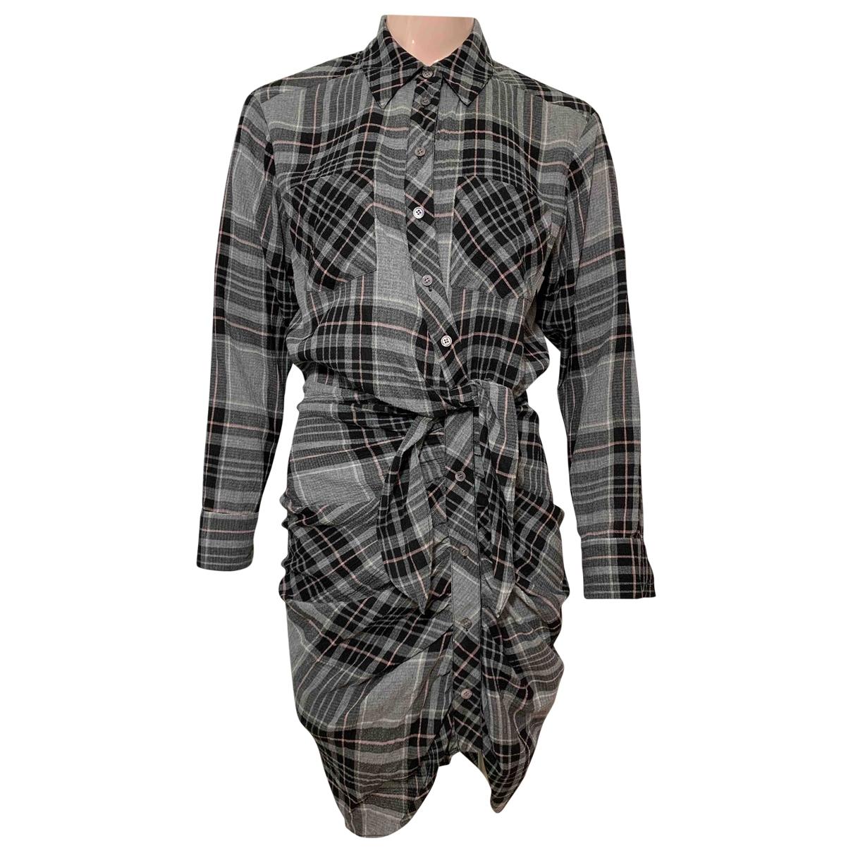 Veronica Beard \N Kleid in  Grau Viskose