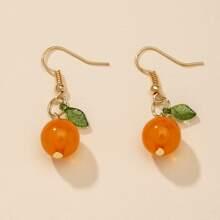 Fruit Decor Drop Earrings