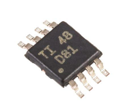 Texas Instruments DAC8551IDGKT, Serial DAC, 200ksps, 8-Pin MSOP