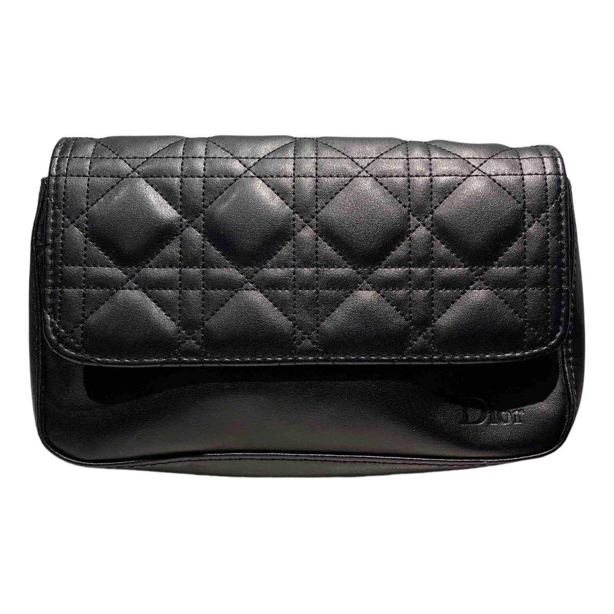 Bolsos clutch en Sintetico Negro Dior