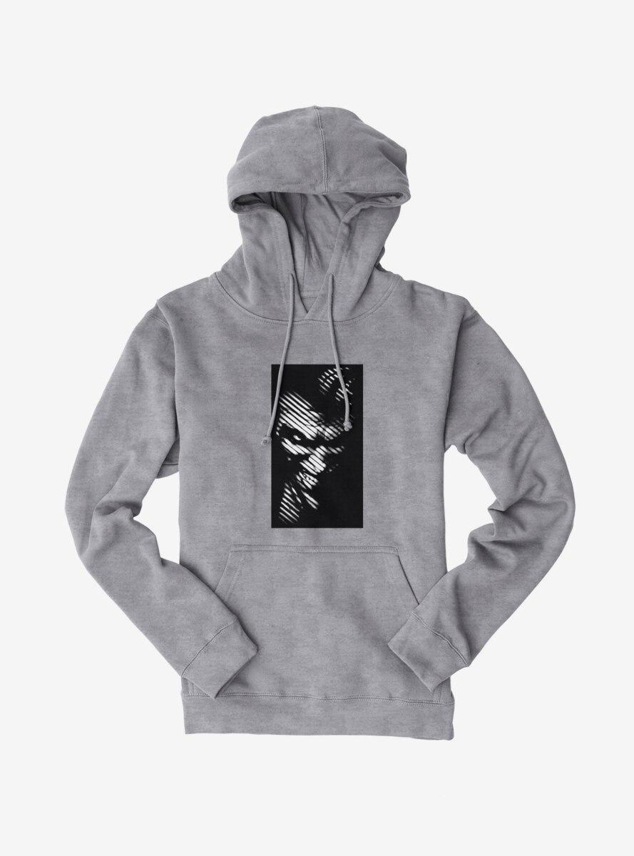 DC Comics Batman Striped Joker Face Hoodie