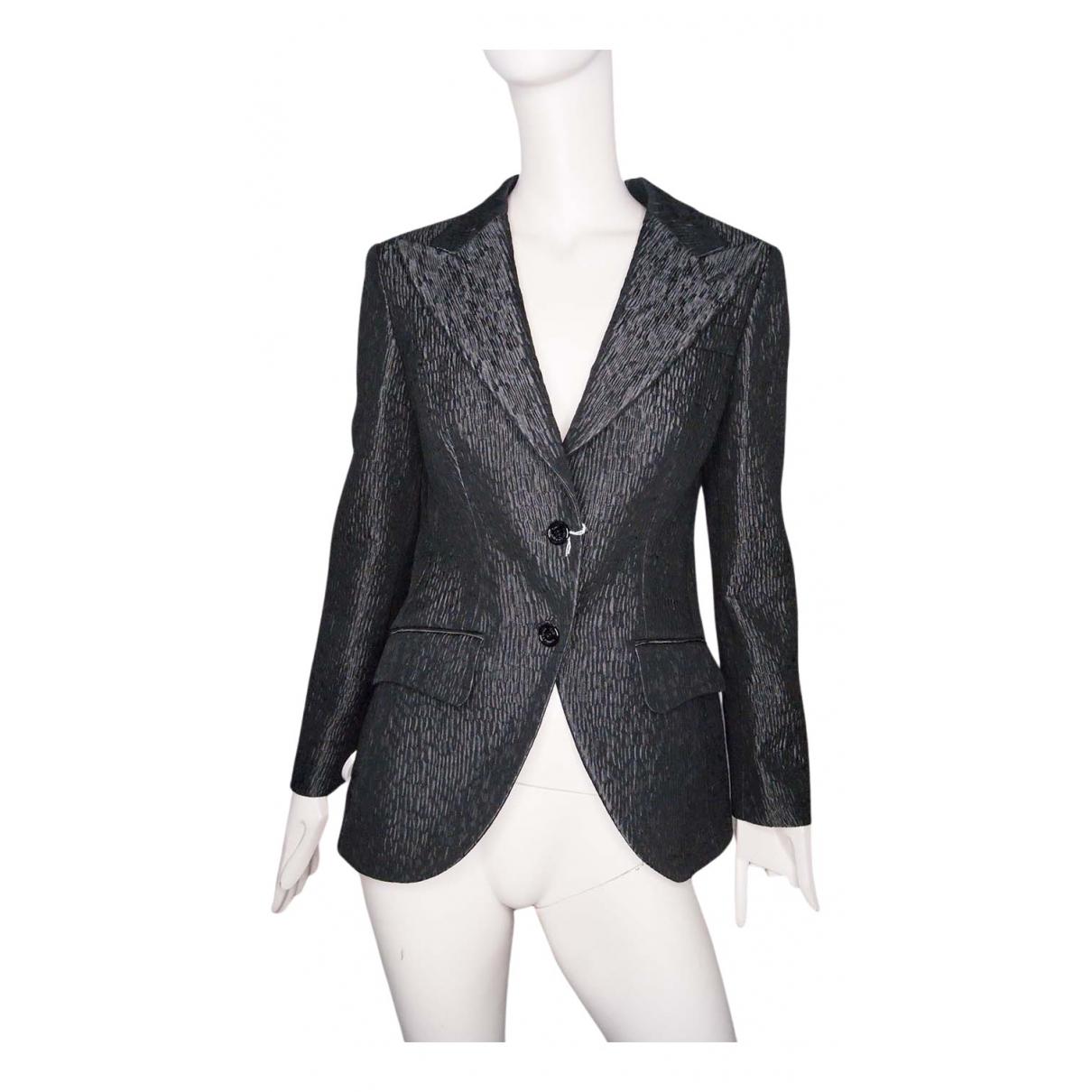 D&g - Veste   pour femme en coton - gris