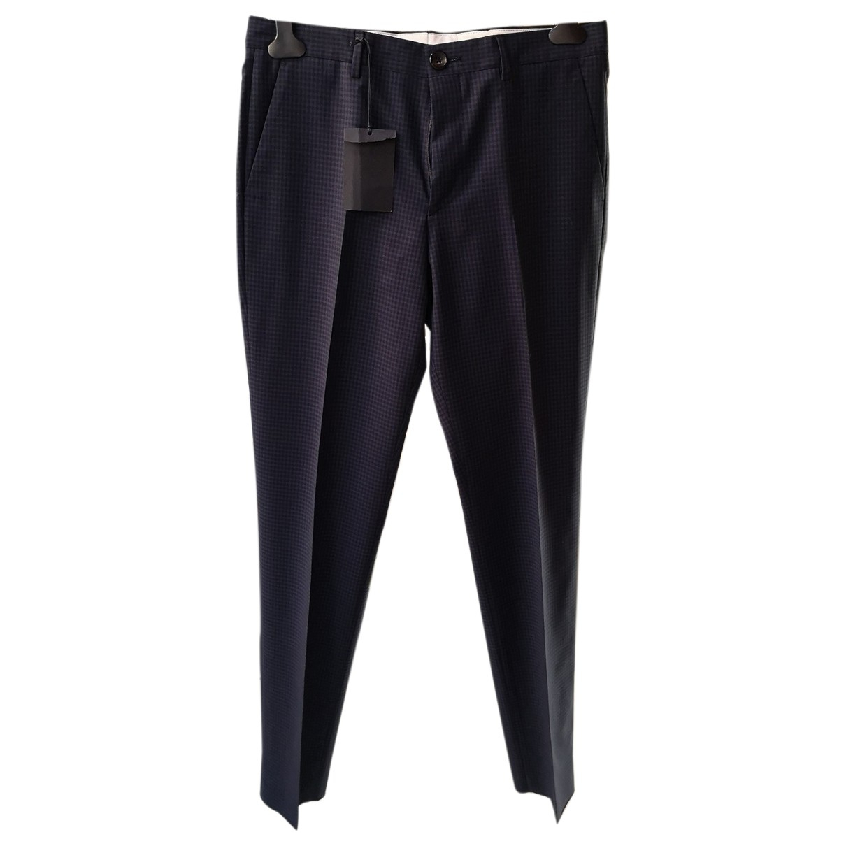 Paul Smith \N Blue Wool Trousers for Men 30 UK - US