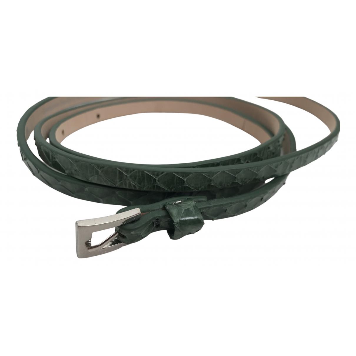 By Malene Birger \N Camel Exotic leathers belt for Women XS International