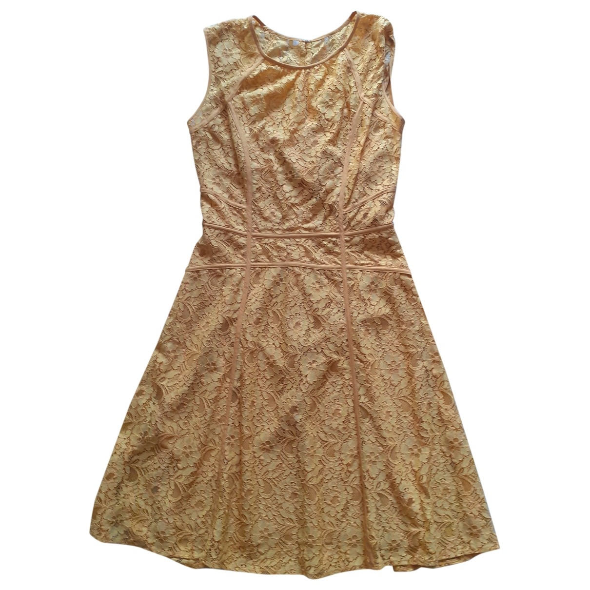 Bcbg Max Azria - Robe   pour femme - jaune
