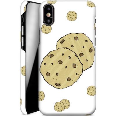 Apple iPhone X Smartphone Huelle - Cookies von caseable Designs