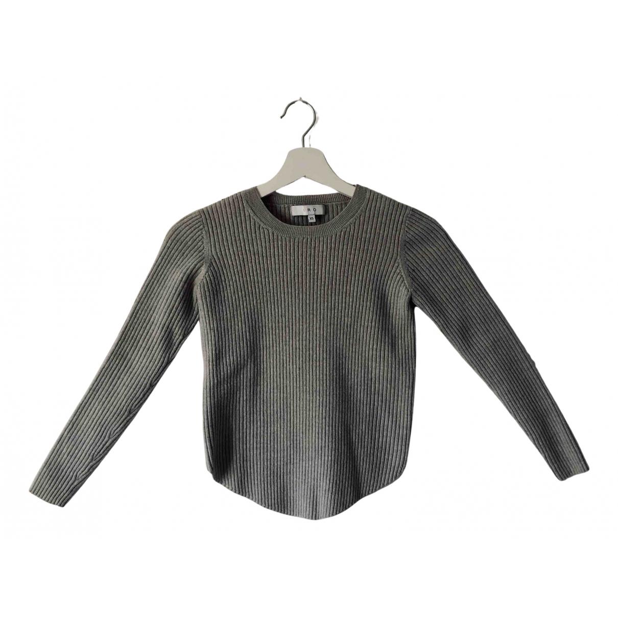 Iro - Pull   pour femme en laine - anthracite