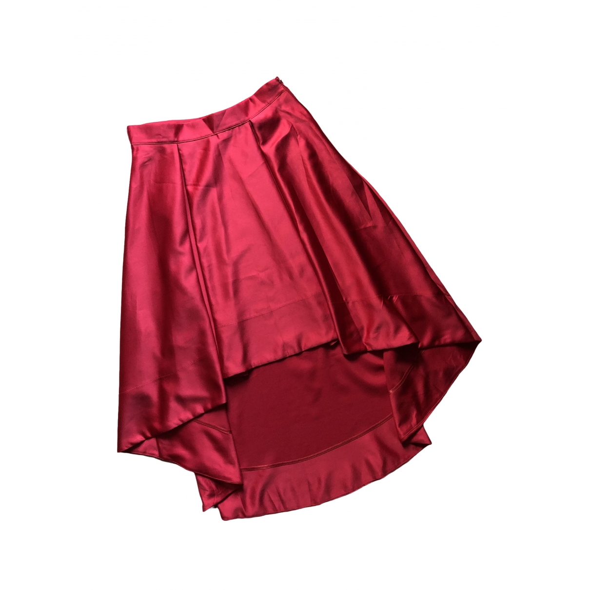 Non Signé / Unsigned \N Red skirt for Women M International