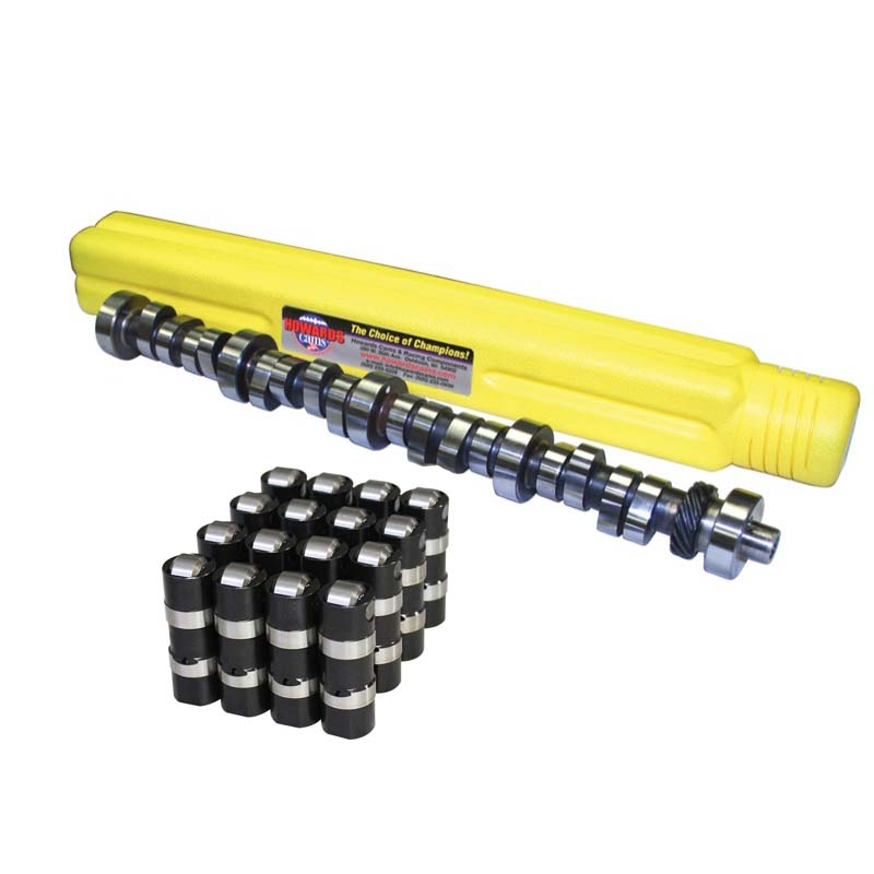 Hydraulic Roller Camshaft & Lifter Kit; 1969 - 1996 Ford 351W 2400 to 6400 Howards Cams CL222735-12S CL222735-12S