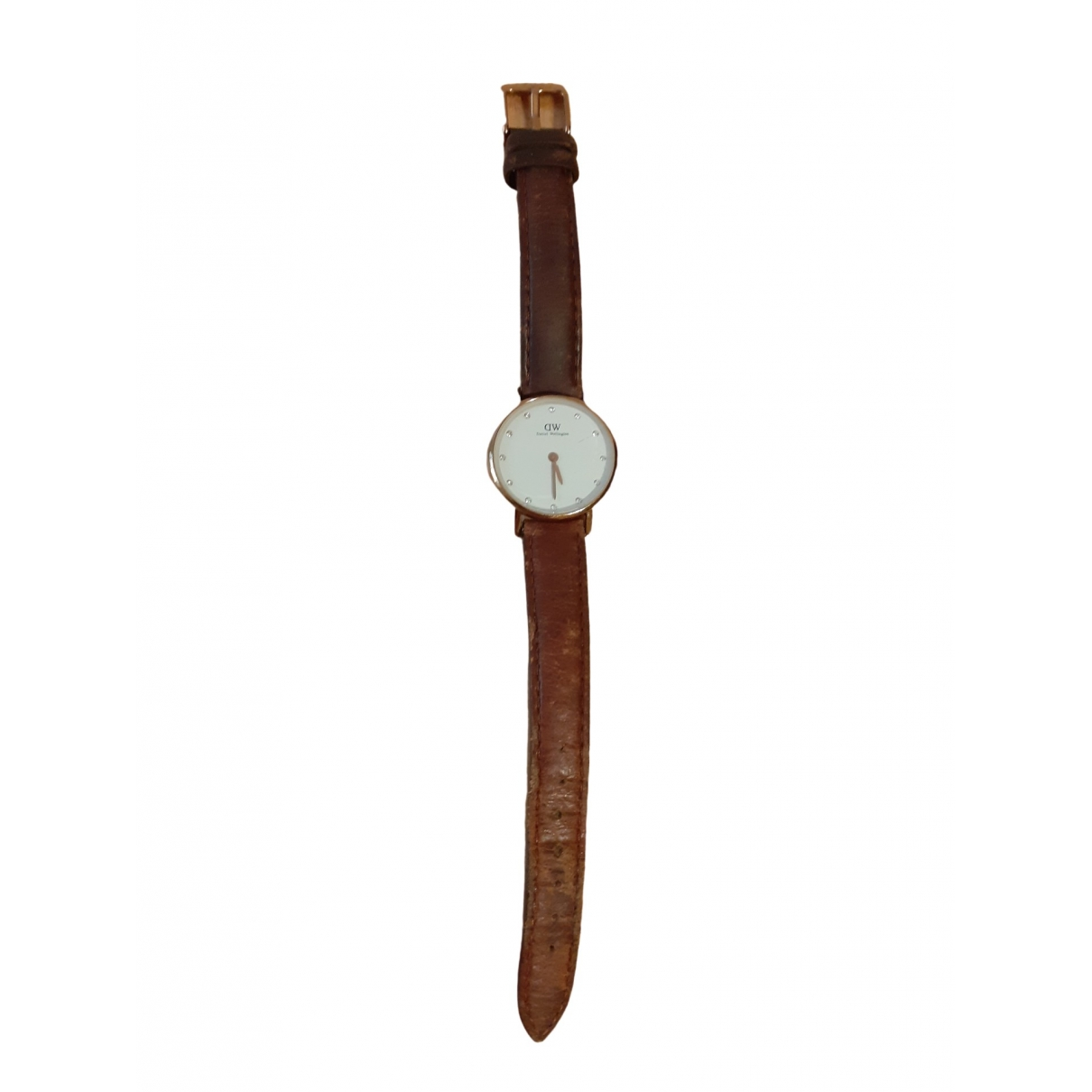 Daniel Wellington \N Brown Steel watch for Women \N