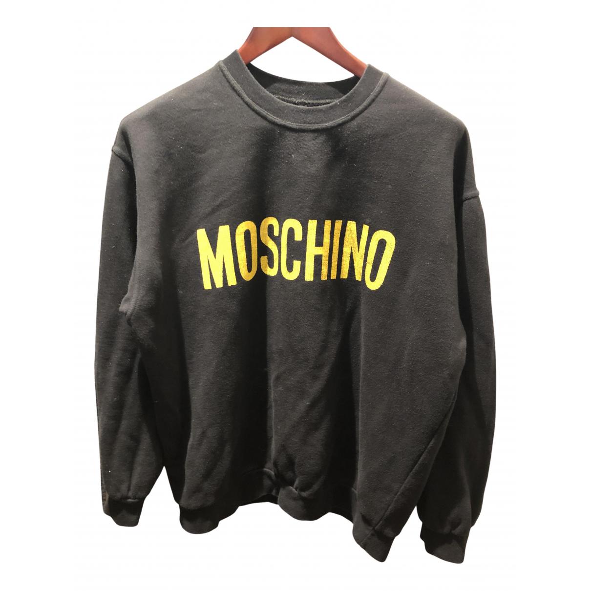Moschino Cheap And Chic \N Pullover.Westen.Sweatshirts  in  Schwarz Baumwolle