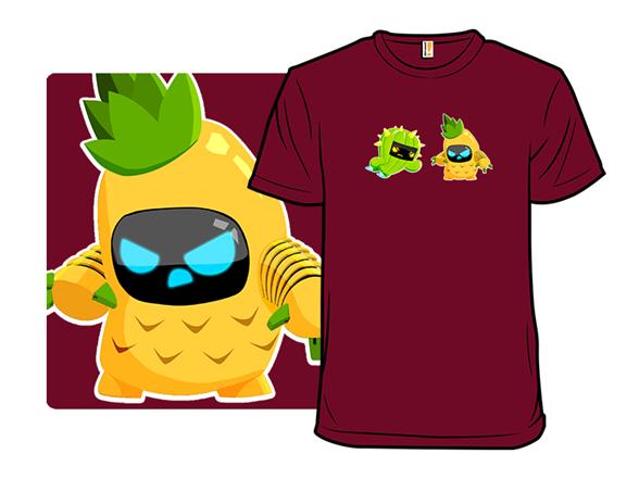 Fruit Bot Battle T Shirt