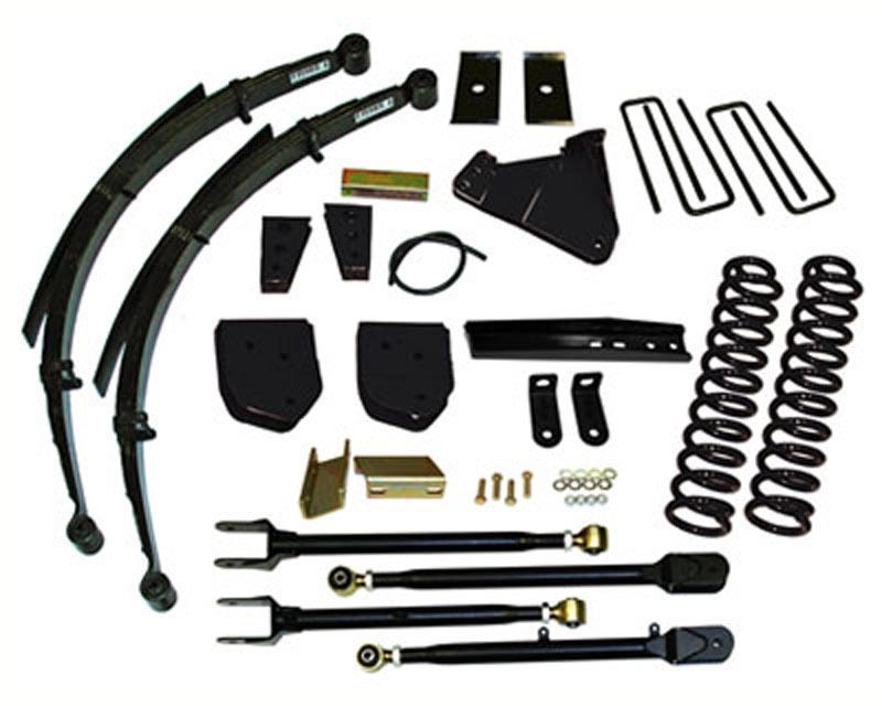 Skyjacker F116024KS 6 Inch Lift Kit Ford F-250 Super Duty V8 4WD 11-13