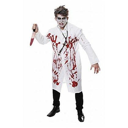 Halloween Costume Bloody Doctor Adult Size L