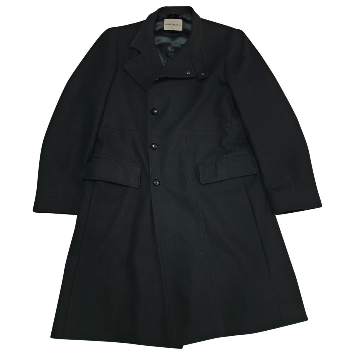 Emporio Armani \N Navy coat  for Men L International