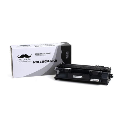 Compatible HP 05A CE505A MICR Black Toner Cartridge - Moustache®