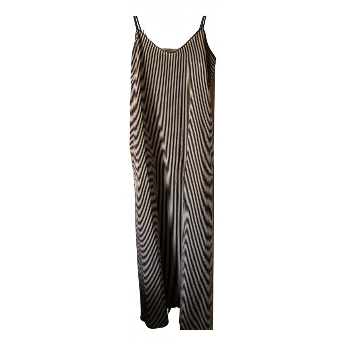 Momoni \N Kleid in  Schwarz Synthetik