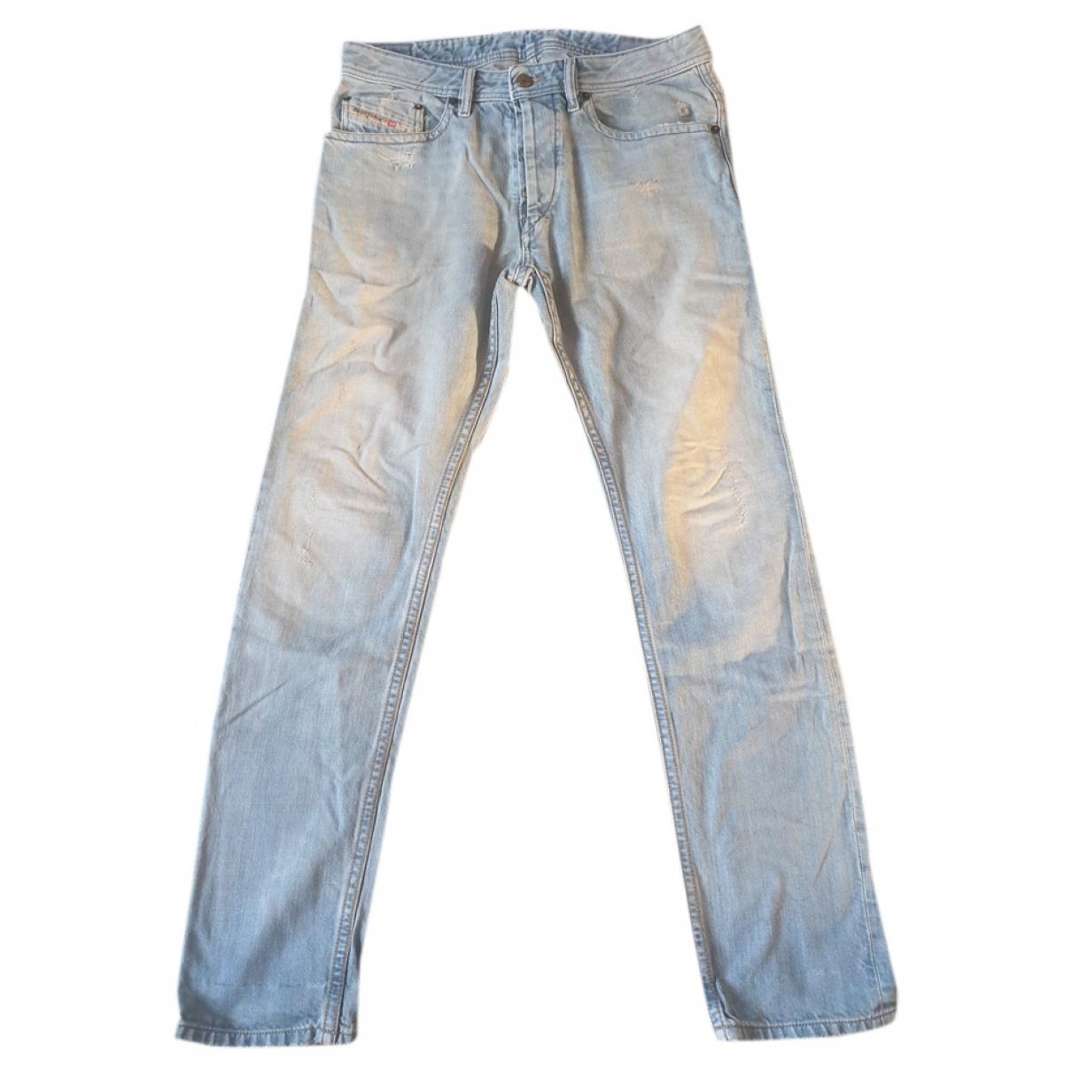 Diesel \N Blue Cotton Jeans for Men 38 - 40 FR