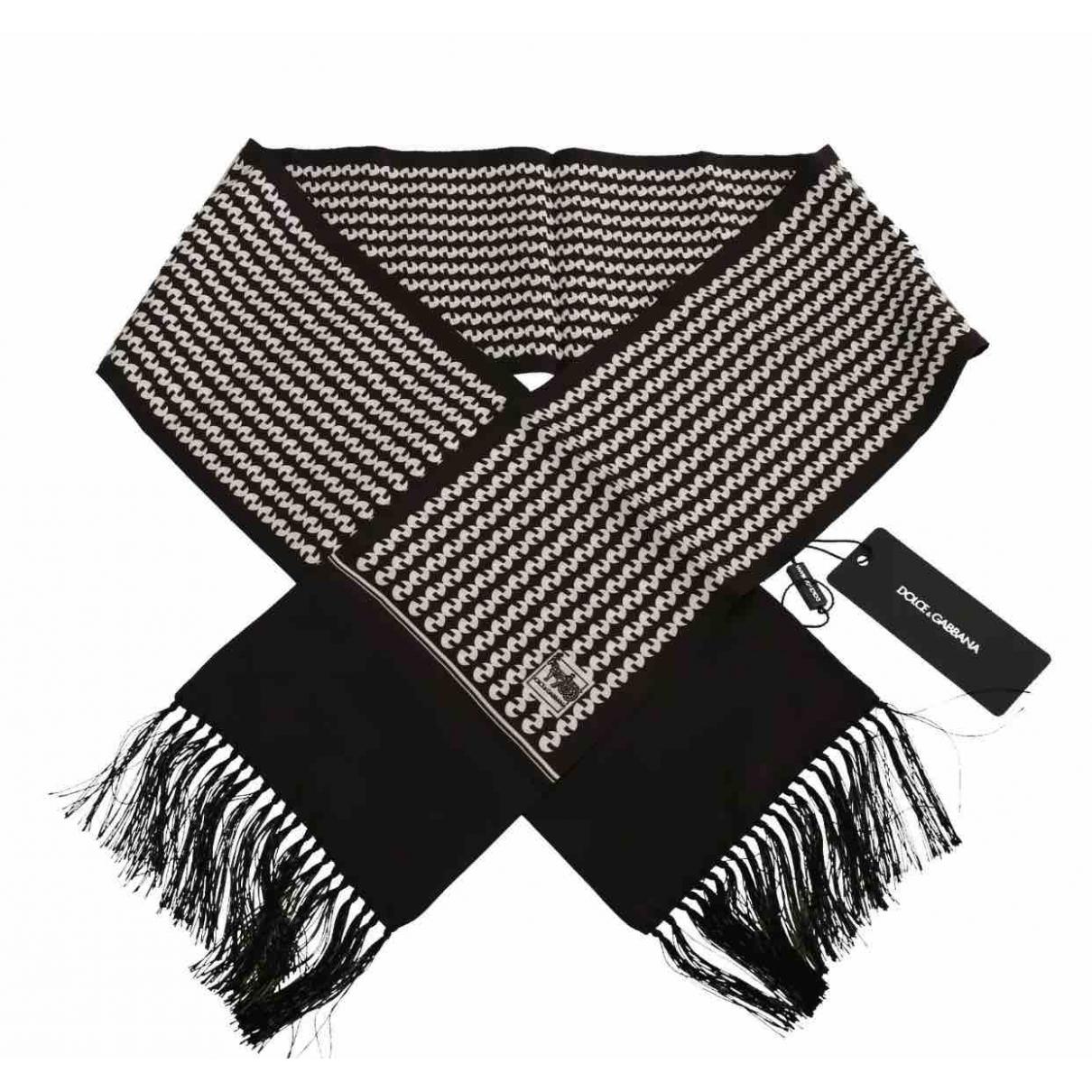 Dolce & Gabbana \N Brown Silk scarf & pocket squares for Men \N