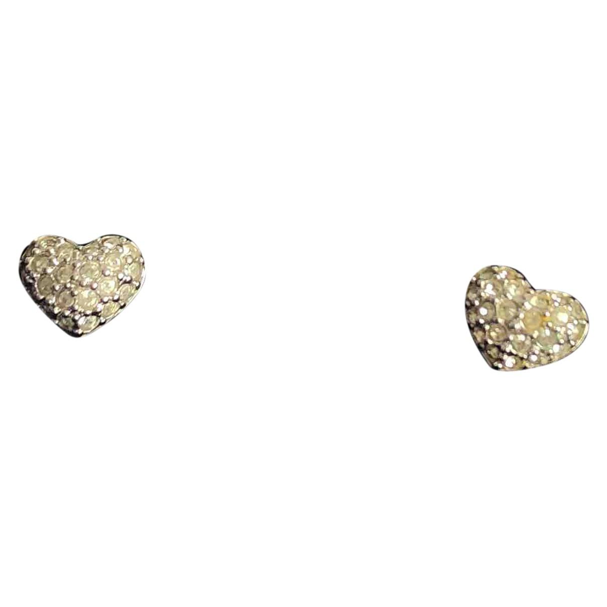 Swarovski \N OhrRing in  Silber Kristall