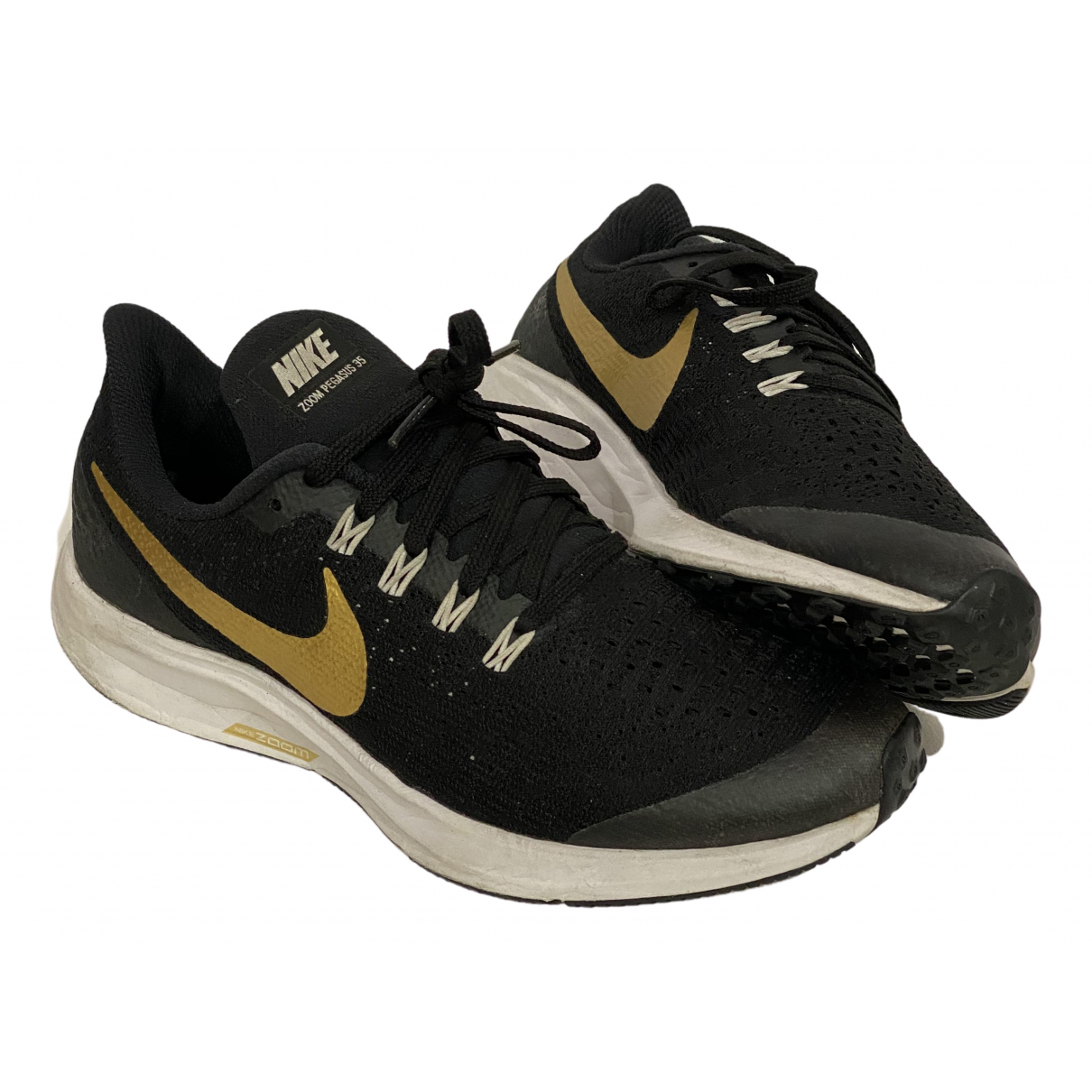 Nike Air Zoom Pegasus Sneakers in  Schwarz Leinen