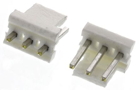 TE Connectivity , MTA-156, 3 Way, 1 Row, Straight PCB Header (5)